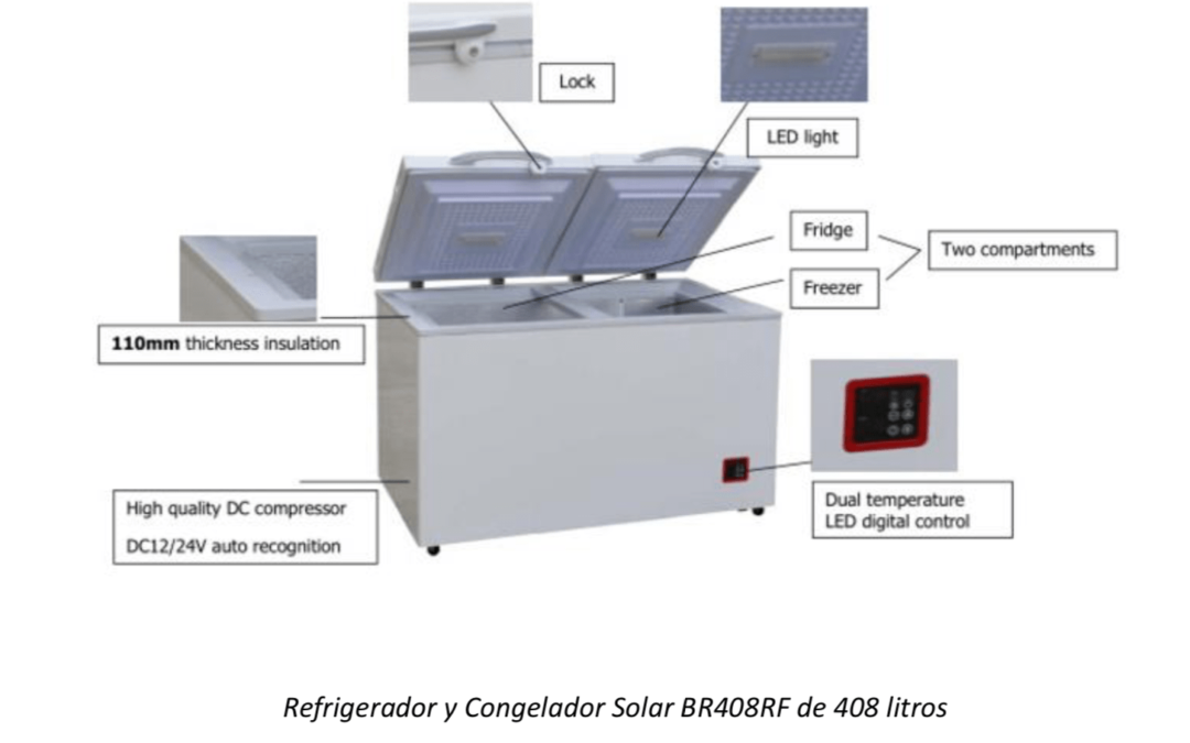 Información sobre refrigeradores solares