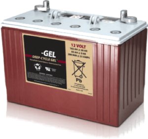 bateria solar gel