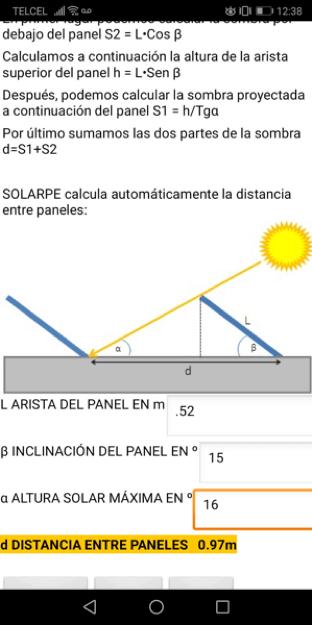 sombras paneles solares
